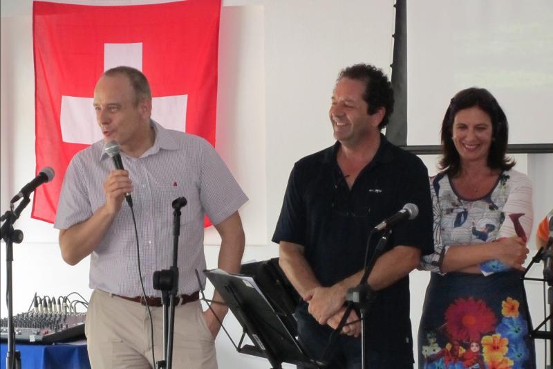 François Duvanel, Alberto e Adriana Eisenhardt